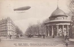 75008 75017 / TOUT PARIS / LE CLEMENT BAYARD EVOLUANT BOULEVARD DE COURCELLES PARC MONCEAU - Arrondissement: 08