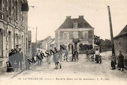 CPA   La Poueze  Rue De La Barre  Vers Les Ardoisières - France