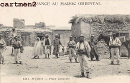 LEGION ETRANGERE GUERRE DU RIF M'COUN PLACE CENTRALE LEGIONNAIRE MAROC - Marruecos