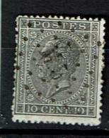 17A  Obl M 5  BXL Namur (+10) - 1865-1866 Linksprofil