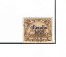 Nicaragua PO 1928 Tipo 1914/22 Ovpr.Scott.462+See Scans  Used In Scott.Album - Nicaragua