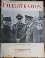 L'Illustration N° 5096 9 Novembre 1940 - Journaux - Quotidiens