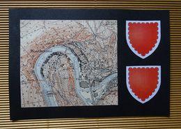 Plan Ancien De MONTHERME, ( Ardennes ), Datant De 1952. - Carte Geographique
