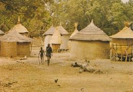CPSM  -  HAUTE-VOLTA - Type D'Habitation Au Village  - 029 - Postcards