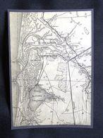 Plan Ancien De ARCACHON, LA TESTE, CAZAUX, ( GIRONDE ), Datant De 1929. - Cartes Géographiques