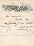 Allemagne.Rhénanie Du Nord - Entête H.Von Gimborn -  Emmerich Du 26 Novembre 1900 . - Non Classés