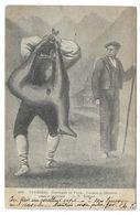 CPA Précurseur - PYRENEES, COSTUMES DU PAYS, CHASSEURS D' IZARDS - Dessin De Gorce - Circulé 1903 - Voir Tampon - Arts
