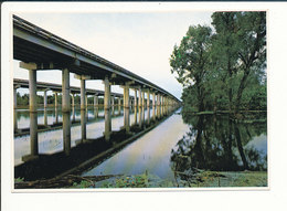 Atchafalaya Basin Louisiane USA Pont En Béton Armé Bridge  CP68/48 - Etats-Unis