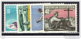 LIECHTENSTEIN Y&T N° 296/9 * MH . - Liechtenstein