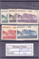 Monaco - N°195 à 199 ** - Neufs