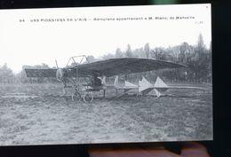 AEROPLANE BLANE MARSEILLE - Airmen, Fliers