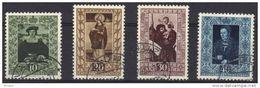 LIECHTENSTEIN 1953, Oblitérés, Y&T 273/6   (904) - Oblitérés
