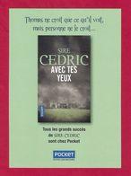 Marque Page. Bookmark.  POCKET.   Sire CEDRIC - Bladwijzers