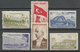 Turkey,20 Years Of Republic Of Turkey 1944.,MNH - 1921-... Republic