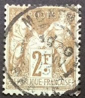 105 D3 Montmirail Marne - Marcophilie (Timbres Détachés)