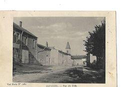 CPA / 55 MEUSE / SAUVIGNY / Rue Du Bois 1919 ? - Autres Communes