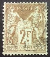 105 2 Oblitéré - 1898-1900 Sage (Type III)