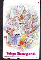 Télécarte Japon / 110-182032 - DISNEY - Ours WINNIE POOH NOEL CHRISTMAS (6030)  Hibou Owl Cochon Tigre - Japan Phonecard - Disney