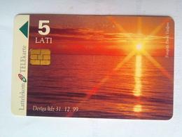 5 Lati Sunset - Latvia