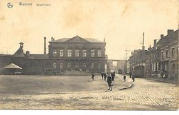 CPA / PK / AK   -  WASMES  Grand'place  ( Tramways ) - Colfontaine