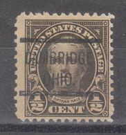 USA Precancel Vorausentwertung Preo, Locals Ohio, Cambridge 551-513 - Vereinigte Staaten