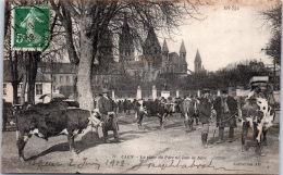 14 CAEN - La Place Du Parc Un Jour De Foire - Caen