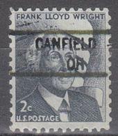 USA Precancel Vorausentwertung Preo, Locals Ohio, Canfield 841 - Vereinigte Staaten