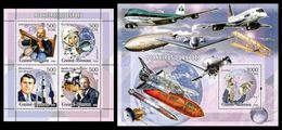GUINEA BISSAU 2006 - Space Pioneers - YT 2158-61 + BF304 - Space