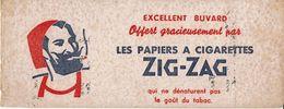 """Buvard """" ZIG-ZAG"""" Offert Par Les Papiers à Cigarettes....qui Ne Dénature Pas - Tobacco"""