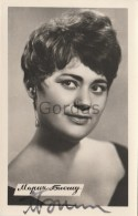 Moldova - Chisinau - Maria Biesu - Opera Singer - Original Autograph - Chanteurs & Musiciens