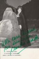Chile - Claudia Parada - Soprano - Napoli - Taetro Di San Carlo - Original Autograph - Photo 120x180mm - Signiert