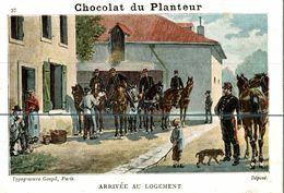 CHOCOLAT DU PLANTEUR   ARRIVEE AU LOGEMENT - Non Classificati