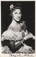 Sweden - Stockholm - Jaqueline Delman - Opera Singer - Original Autograph - Photo 120x180mm - Fotos Dedicadas