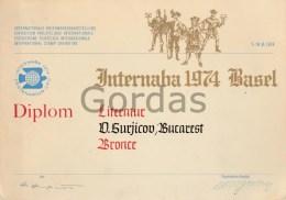 Switzerland - Basel - 1974 - Diploma - Diploma & School Reports