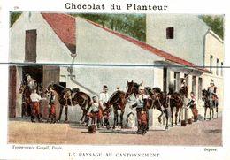 CHOCOLAT DU PLANTEUR   LE PANSAGE AU CANTONNEMENT - Non Classificati