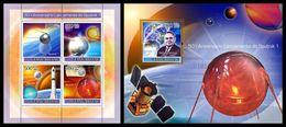 GUINEA BISSAU 2007 - Sputnik 1 - YT 2448-51 + BF376 - Space