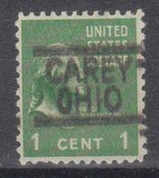 USA Precancel Vorausentwertung Preo, Locals Ohio, Carey 547 - Vereinigte Staaten