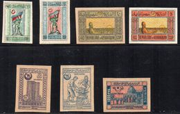AZERBAIGIAN - 1919 / 1922 - 7 VALORI - * - Azerbaijan