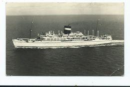 Ship S.s. Uganda. Posted 1958 Corner Crease Rp. - Steamers