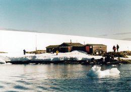 """1 AK Antarctica Antarktis * Das """"Wordie Hut"""" Auf Winter Island - Die Insel Gehört Zur Inselgruppe Argentine Islands * - Ansichtskarten"""
