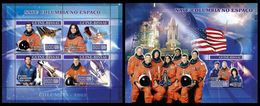 GUINEA BISSAU 2007 - Space Shuttle Columbia - YT 2286-9 + BF336 - Space