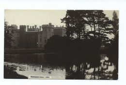 Uk Postcard Ravensworth Castle Yorkshire Rp Small Format Card R.johnson And Son. Unused - England