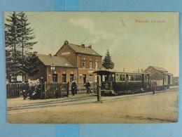 Paliseul La Gare (tram à Vapeur, Stoomtram, Colorisée) - Paliseul