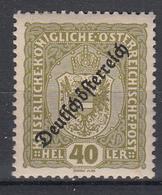 OOSTENRIJK - Michel - 1918 - Nr 237 - MH* - 1918-1945 1ère République