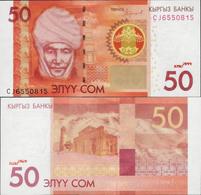 Kyrgyzstan 2016 - 50 Som - Pick 25 UNC - Kyrgyzstan