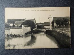 Cpa 45 La Brosse Route Venant De Puiseaux - France