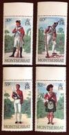 Montserrat 1979 Military Uniforms MNH - Montserrat
