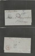 "Haiti. 1880 (22 Oct) Port Au Prince - France, Bordeaux (11 Nov) EL Full Text Via London (10 Nov) + """"JACMEL UNPAID"""" (xx - Haiti"
