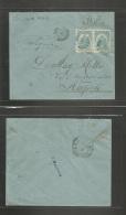 Haiti. 1903 (25 May) Port Prince - Italy, Napoli (3 June) Via NY. Fkd Env At 10c Rate. Fine. - Haiti