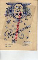 75- PARIS- PROGRAMME THEATRE MOGADOR-AUBERGE CHEVAL BLANC-FRERES ISOLA-ERIK CHARELL-HANS MULLER-BENATZKY-DORVAL-CHARPIN - Programs